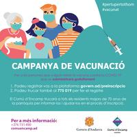 Campanya de vacunació contra la COVID-19