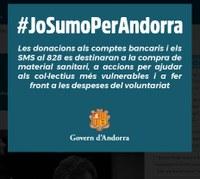 Jo sumo per Andorra. Fes un donatiu