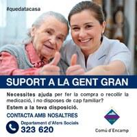 Suport Gent Gran i Afers socials