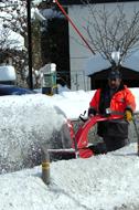 Treta de neu