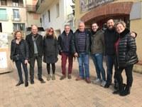 Una delegació andorrana visita el Vallespir per avaluar la possibilitat de participar en una candidatura multinacional de les Festes de l'Os als Pirineus