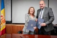 El Govern i el Comú d'Encamp signen un acord per al desenvolupament de la Ruta dels Orris i els treballs arqueològics del possible túmul/Dolmen