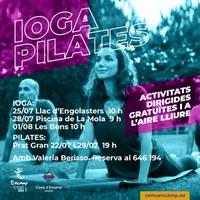Activitat pilates i ioga