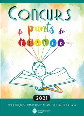Cartell concurs punts de llibre 2021