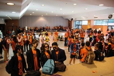 200 joves participen en la tercera edició del Gimkna't a 7 bandes