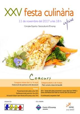 Encamp celebra la 25a Festa culinària de l'APAE