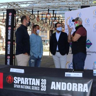 Encamp preveu un cap de setmana de plena ocupació per l'Spartan Race amb un important retorn econòmic per la parròquia