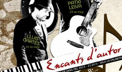 """A la venda les entrades per al cicle de recitals acústics """"Encants d'Autor"""" amb Barceló, Cartes i Leiva"""