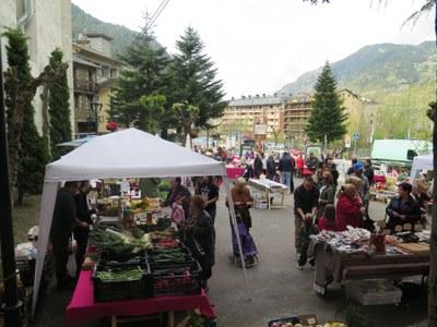 Aquest dissabte s'inaugura la temporada de mercat a Encamp a càrrec de l'Associació d'Empreses d'Encamp