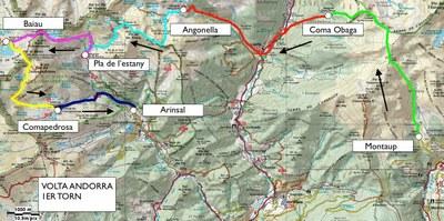 Avui comença la Volta a peu a Andorra