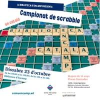 Obertes les inscripcions pel campionat de Scrabble que organitza la Biblioteca d'Encamp