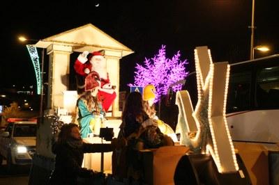 Cavalcada del Pare Noel a Encamp i al Pas de la Casa