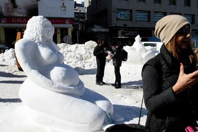 Torna el Concurs Internacional d'Escultura Monumental sobre Neu al Pas de la Casa