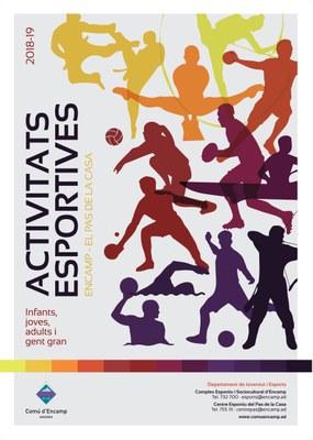 El 3 de setembre s'obren les inscripcions per a les activitats esportives d'Encamp i del Pas de la Casa
