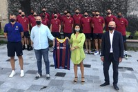 Recepció Pretemporada Barça Encamp 2020. Plaça Sant Miquel