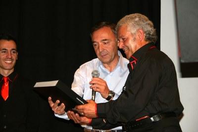 El cantant Giancarlo Sanna porta cançons tradicionals catalanes de l'Alguer a Encamp