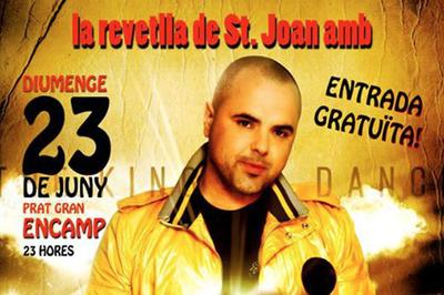 El cantant Juan Magan actuarà al Prat Gran d'Encamp per la revetlla de Sant Joan