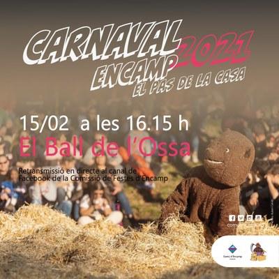 El Carnaval d'Encamp retransmet el Ball de l'Ossa per internet i afegeix quatre espectacles musicals infantils dissabte i diumenge