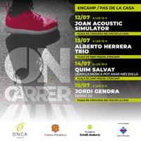 """El cicle de música """"ON-CARRER""""  s'estrena avui i portarà 4 concerts a Encamp i al Pas de la Casa"""