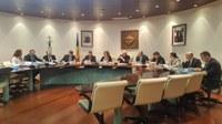 Vista general dels consellers i conselleres durant el consell de comú.