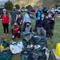 El Comú d'Encamp agraeix als voluntaris del Clean up day la recollida de més de 350 kg de brossa als Cortals, a Engolasters i al Pas de la Casa