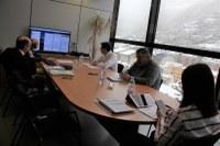 Sessió per videoconferència del Consell de Comú