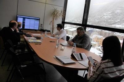 El Comú d'Encamp celebra el Consell de Comú per videoconferència