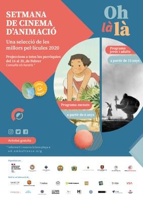Els millors curtmetratges del Festival Internacional de Cinema d'animació d'Annecy arriben a Encamp en col·laboració amb l'ambaixada francesa