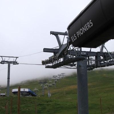 El Comú d'Encamp impulsa l'obertura del telecabina dels Pioners i el telecadira del Coll dels isards del Pas de la Casa per oferir un nou atractiu turístic aquest estiu