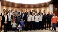 El Comú d'Encamp ofereix una recepció al FC Encamp, campió de la lliga nacional de futsal