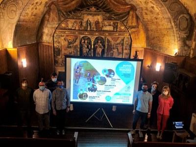 El Comú d'Encamp presenta les quatre rutes culturals com eina de promoció turística amb suport audiovisual