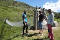 El Comú d'Encamp reobre el pont tibetà dels Cortals