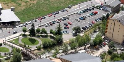 El Comú d'Encamp informa del tancament de l'aparcament de Sant Miquel per la renovació de la instal·lació