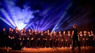 El Concert de Primavera del Cor de Rock arriba a la seva quarta edició amb un centenar de cantants en escena