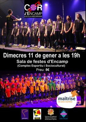 El Cor Rock d'Encamp farà una actuació conjunta amb la Coral Maîtrise de Seine-Maritime el pròxim 11 de gener