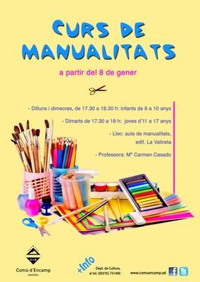 El departament de Cultura d'Encamp ofereix una nova activitat de manualitats per a infants i joves