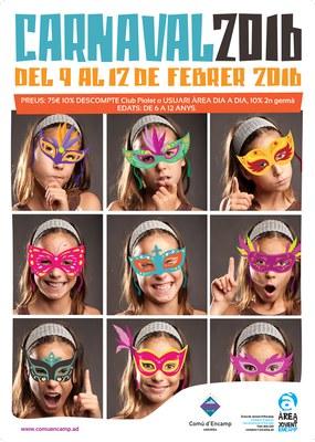 El departament de Joventut i Esports dóna a conèixer les activitats de Carnaval a Encamp i al Pas de la Casa