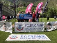 El FC Encamp recapta 1.795 euros per a la fundació Kalilu Jammeh