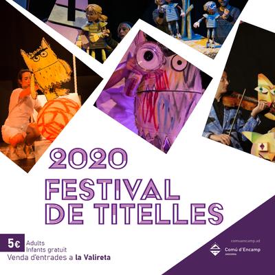 El Festival de Titelles d'aquest cap de setmana es manté amb capacitat limitada al 30% de les localitats