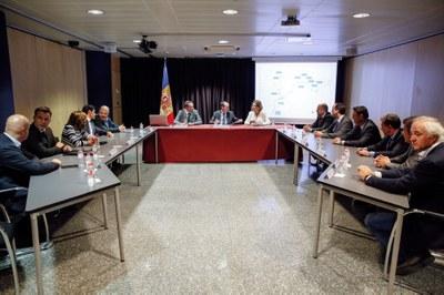 El Govern, els Comuns, i l'ACA signen un conveni de col·laboració per implantar la bicicleta elèctrica a Andorra