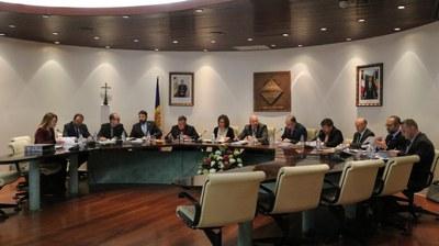 El manual funcional dels treballadors del comú, el tall a la RN22 i l'execució del pressupost del primer trimestre centren la sessió del Consell del comú d'Encamp.