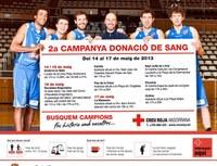 El Pas de la Casa i Encamp s'uneixen els propers 16 i 17 de maig a la segona campanya de donació de sang de la Creu Roja