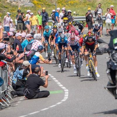 El Tour de France concentra una gran afluència de públic al Coll de Beixalís i al Port d'Envalira