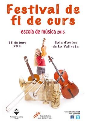 Els alumnes de  les escoles de música d'Encamp actuaran dijous a La Valireta