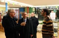 Visita de l'arquebisbe d'Urgell i copríncep d'Andorra Joan-Enric Vives