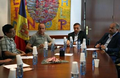 Els cònsols es reuneixen amb els representants dels allotjaments turístics de la vila d'Encamp