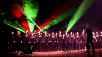 Els Cors Rock d'Encamp i d'Andorra, la proposta musical de l'Encamp en clau de llum d'aquest dimecres al Pas de la Casa
