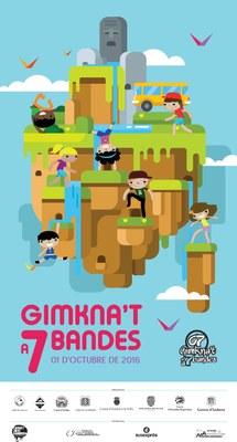 Els departaments de Joventut dels set comuns i el Govern d'Andorra organitzen per sisè any consecutiu la Gimkna't a 7 bandes