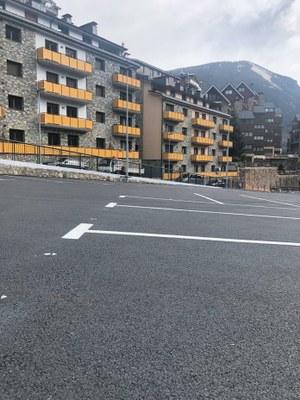 Els nous aparcaments del Prat del Baró i del Torrent Estret, disponibles a partir d'avui
