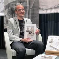 """Jordi Armengol, durant la presentació del llibre """"Records d'Encamp"""""""